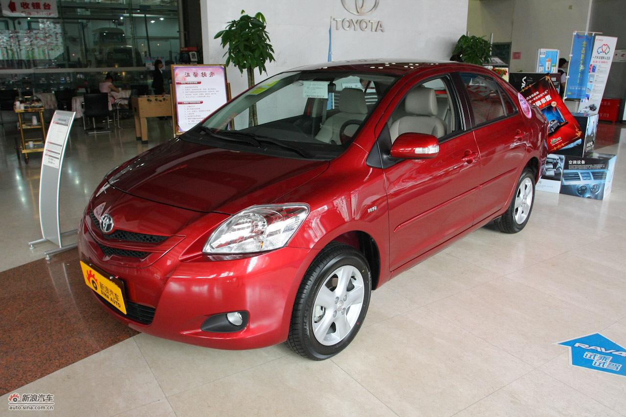 2010款威驰GL-i 1.6AT特别版:车辆外观