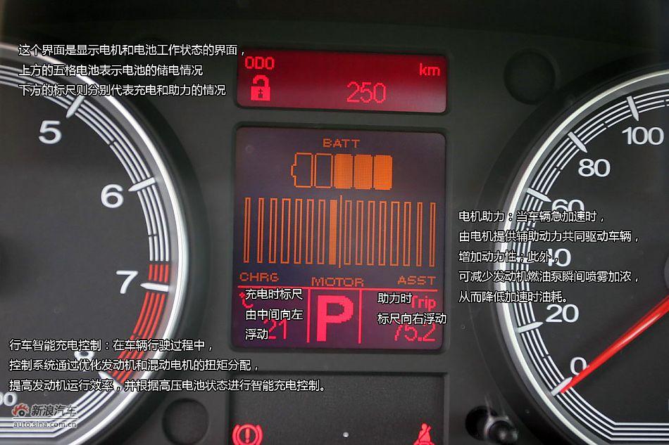 荣威750hybridv汽车汽车版图解试车_长安动力_新浪网重庆二手新浪悦翔v7图片