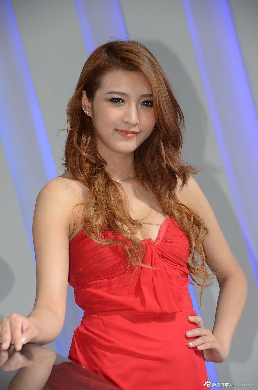 2012长春车展美女模特高清图