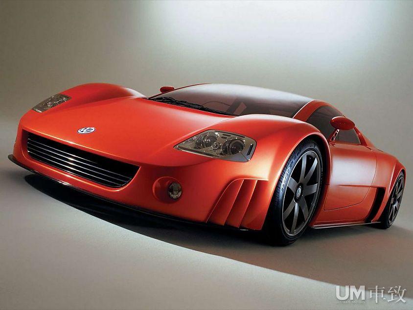 动力仓库 大众W12概念车