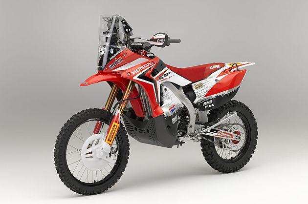 达喀尔骑士 本田量产CRF450 Rally摩托车