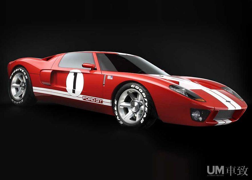 经典延续 福特GT40概念车