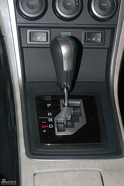 下一图集新宝来sportline图解图片说明:Mazda6睿翼内饰实拍图2008-