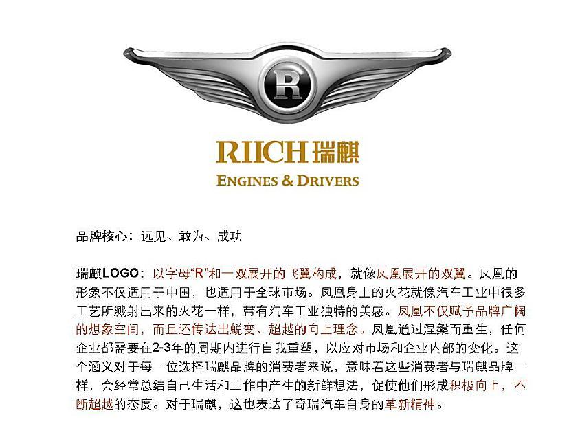 瑞麒品牌logo释义-新浪汽车