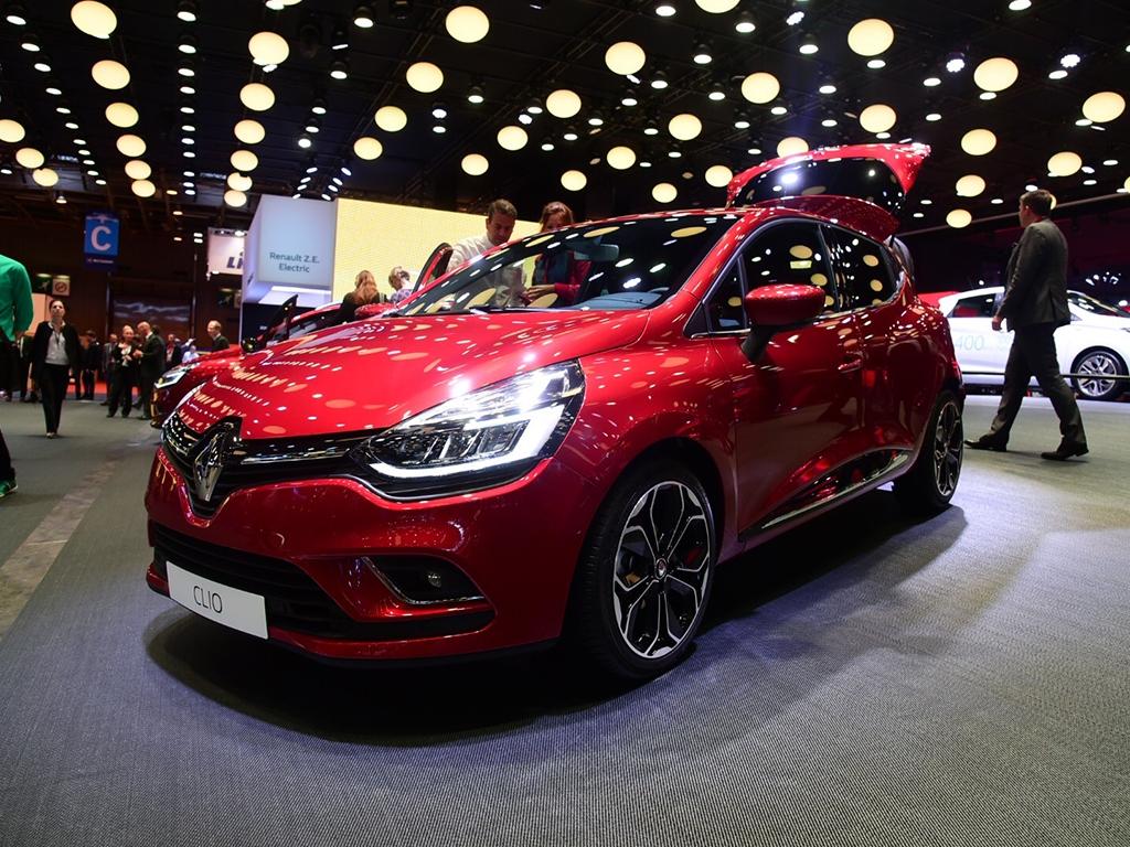 巴黎车展:雷诺新款Clio亮相