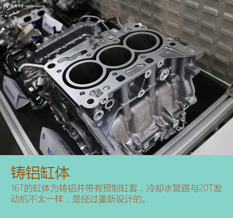 上汽蓝芯SGE 16T发动机解析