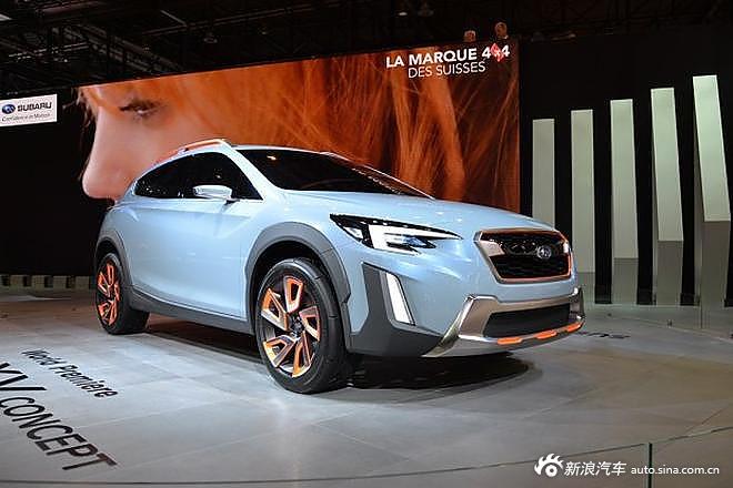 斯巴鲁XV Concept概念车
