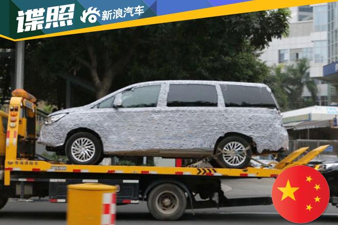 广汽传祺GM8谍照