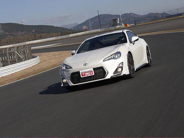 TRD改装丰田GT86 亮相东京改装车展