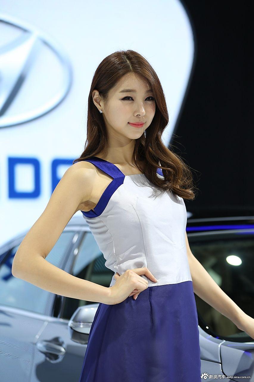 2014北京车展韩范儿美女图集
