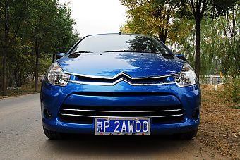 2012款雪铁龙C2 1.6升自动挡外观