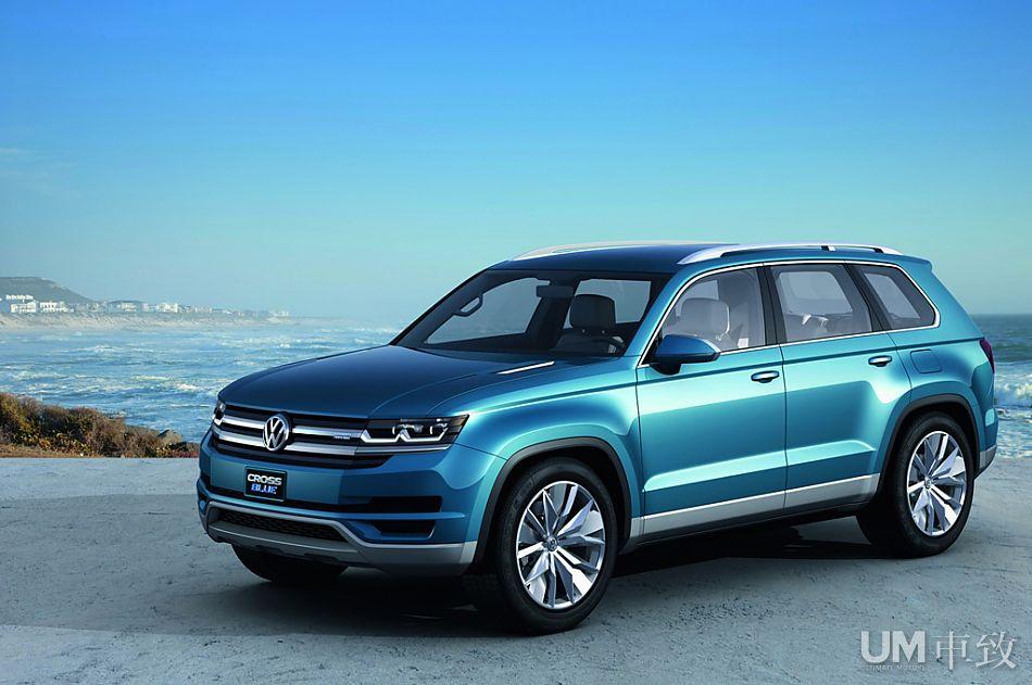 大众汽车SUV概念车CrossBlue高清图片