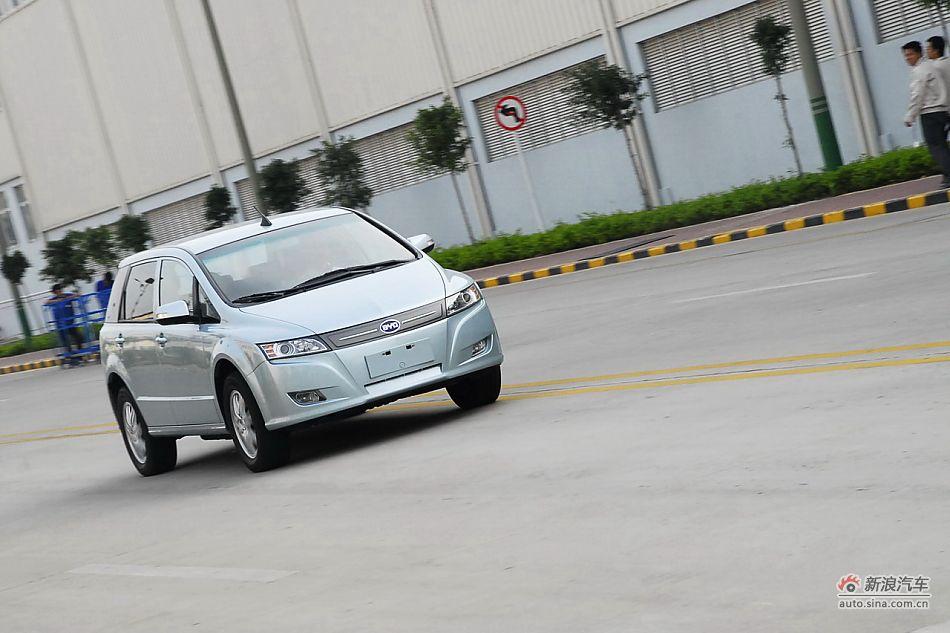 比亚迪e6 纯 电动车 动态 比亚迪e6试车图片34高清图片