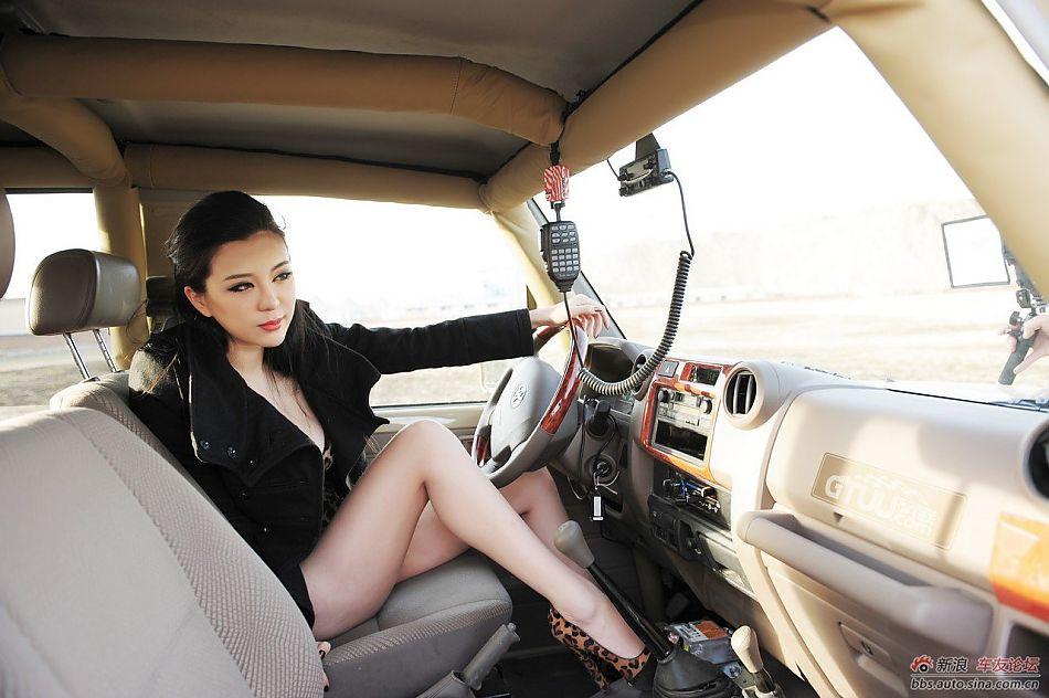 刚小希与经典丰田lc71的激情之旅
