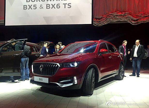 宝沃BX5实车正式亮相