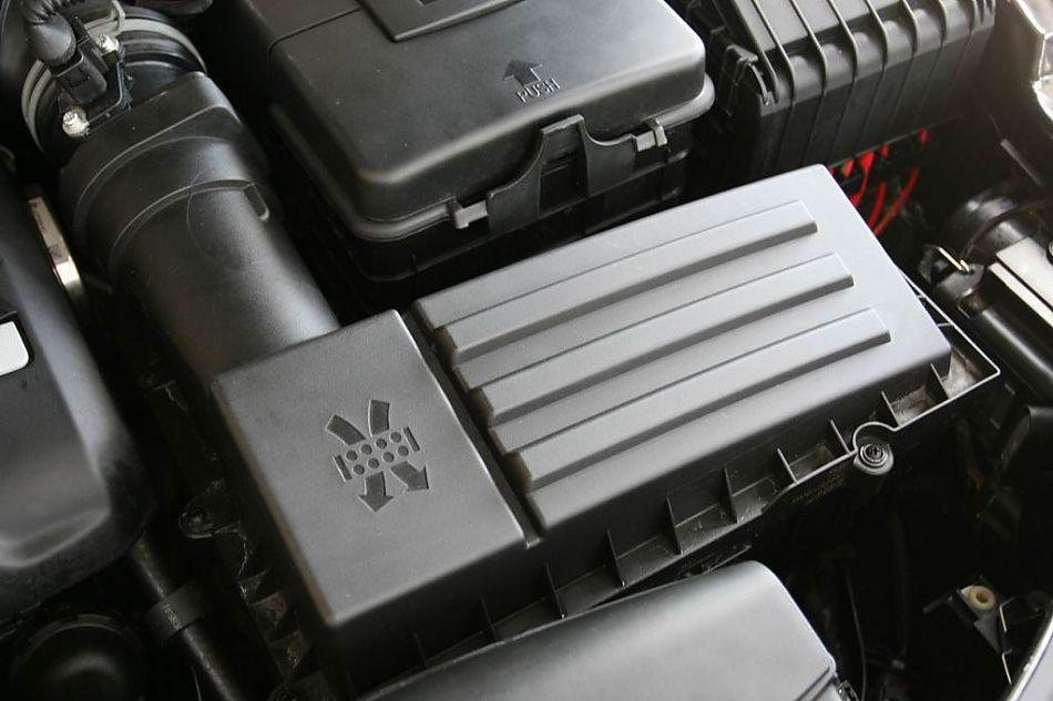 自一体引擎细节 迈腾引擎底盘图片3382 汽车图库 新浪汽车高清图片