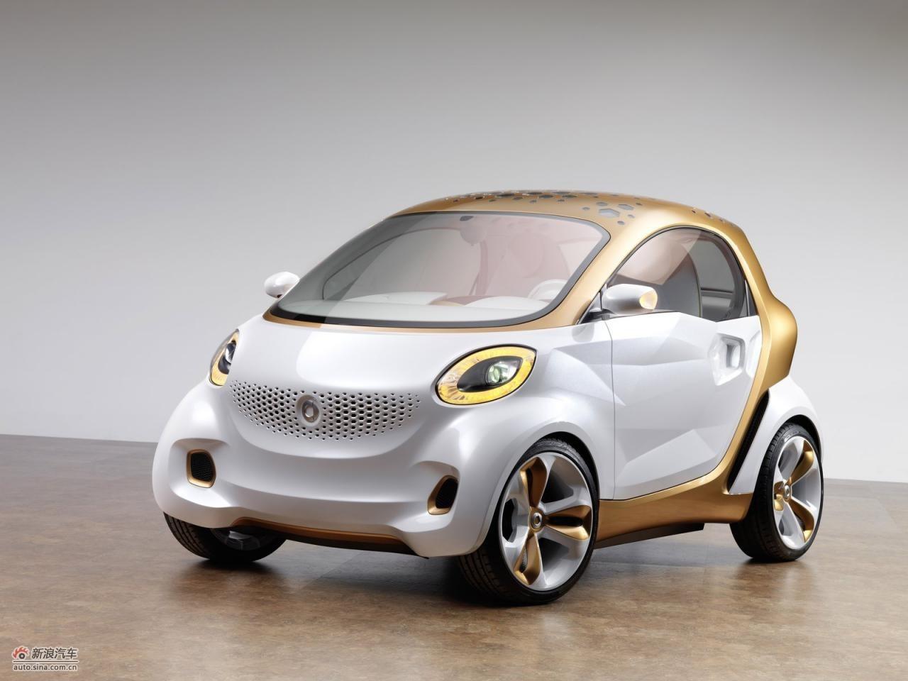 smart forvision ev concept 高清图片