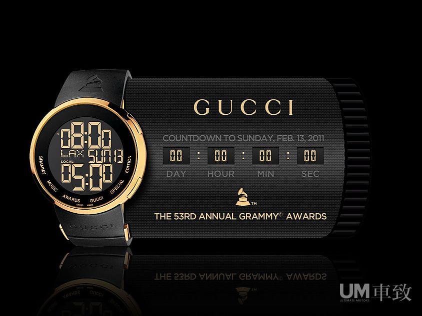 跨界合作 gucci发布格莱美奖纪念版手表图片