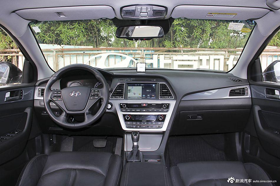 2015款索纳塔九 2.4L自动 TOP旗舰型