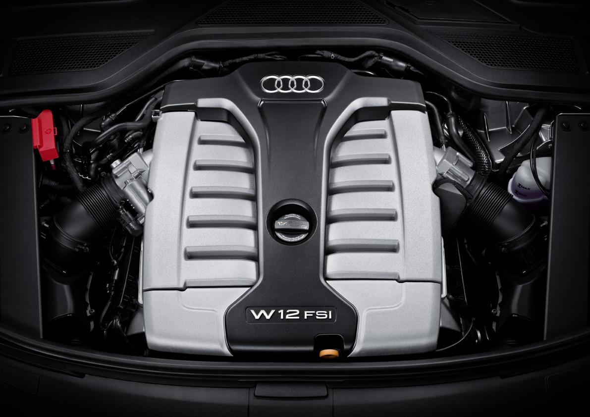 2011款奥迪a8l w12发动机(2/4); 2011 audi a8l; 图片