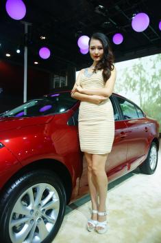 2014广州车展高清模特图:第四季