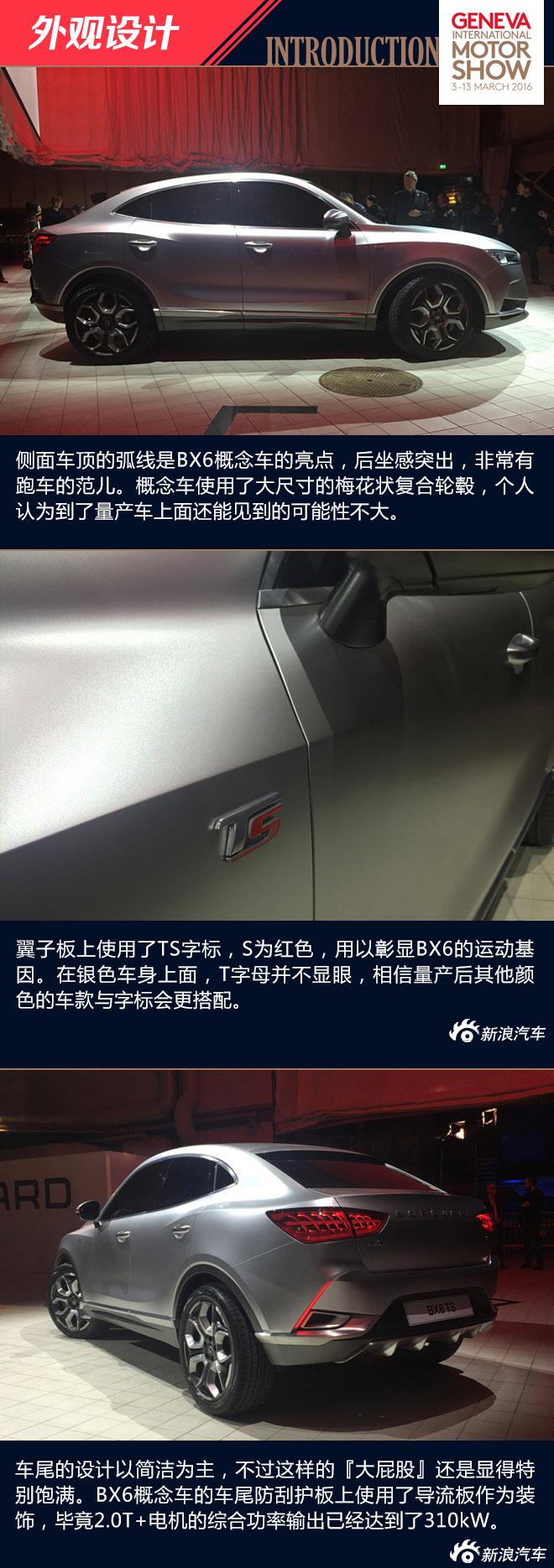 宝沃BX6 TS概念车
