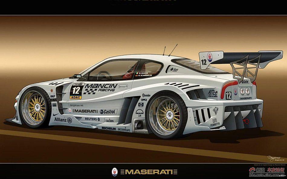 超级跑车的手绘高清组图