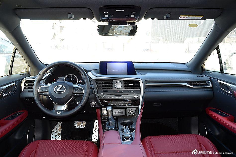 2016款雷克萨斯RX 2.0T自动200t四驱F SPORT