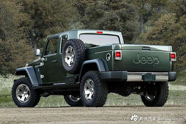 Jeep牧马人皮卡要量产了 会拯救Jeep吗