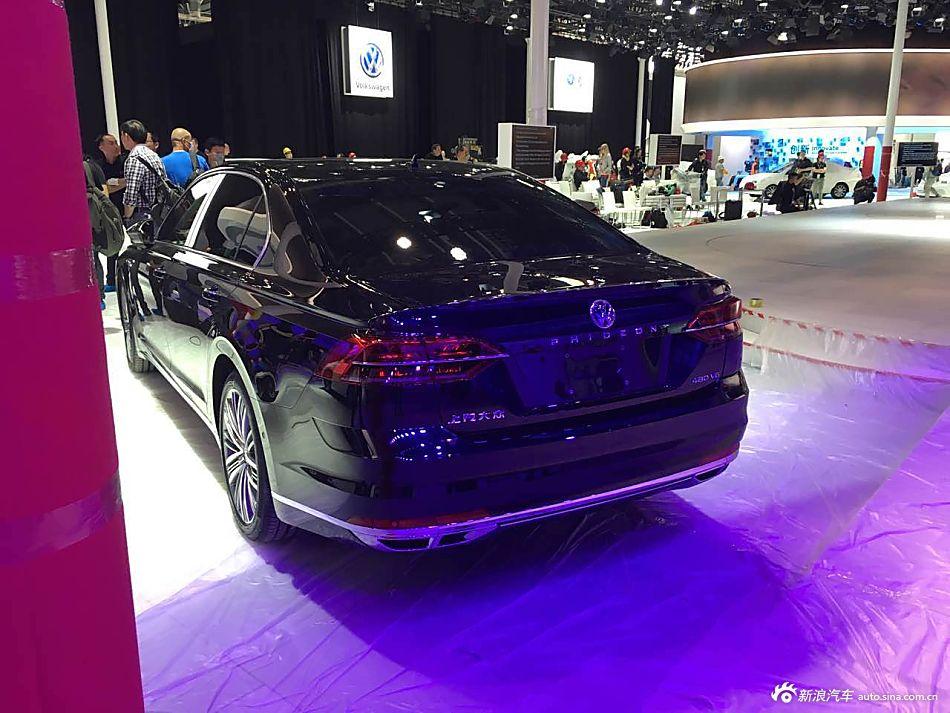 2016北京车展探馆:上汽大众PHIDEON