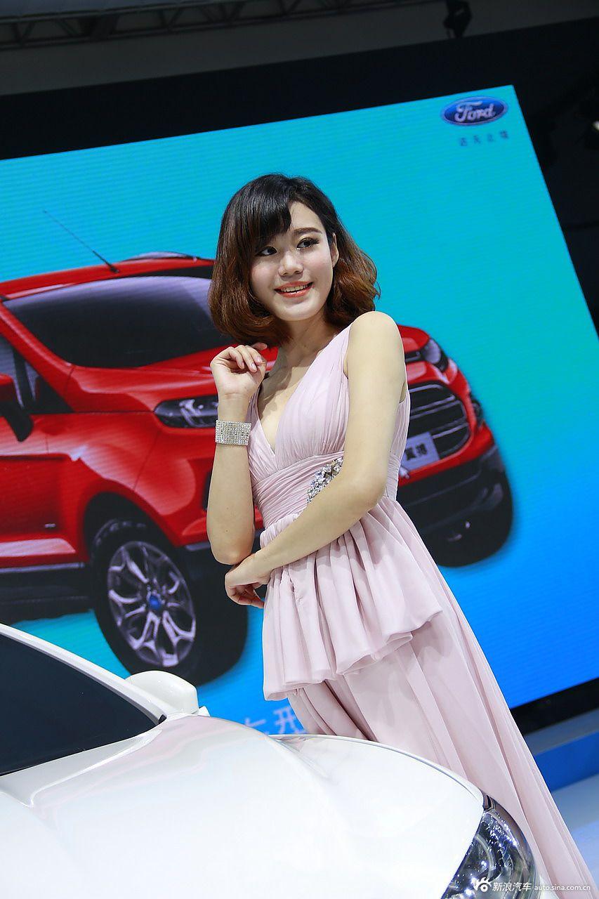 2013青岛国际车展模特高清图集