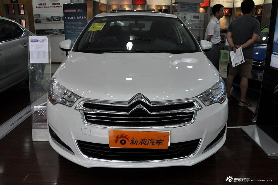 2013款雪铁龙C4L 1.8L手动劲享版