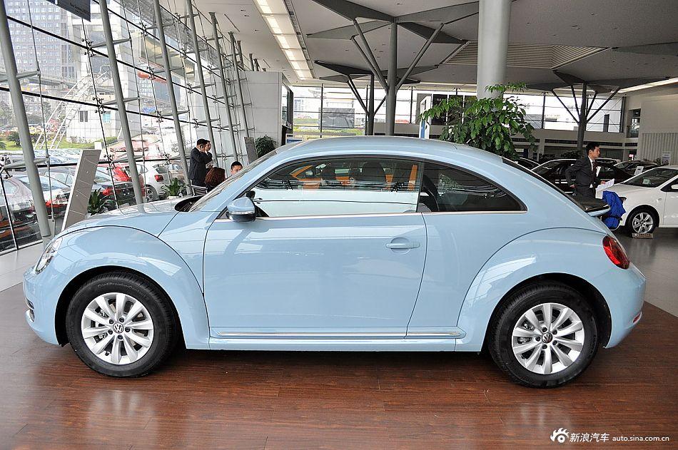2014款甲壳虫1.4TSI时尚型 牛仔蓝