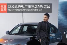 赵又廷亮相2014广州车展MG展台