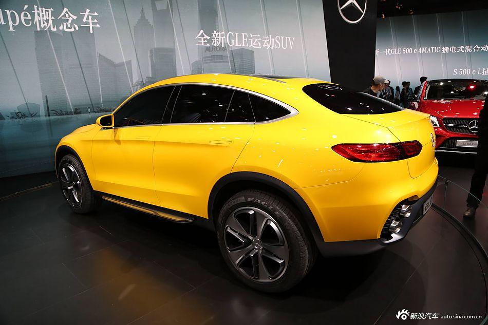 2015上海车展:奔驰glccuope平凉跨越王经销商图片