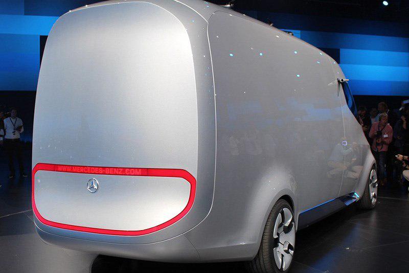 奔驰发布一款未来的快递车