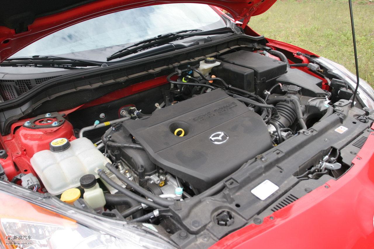马自达3星骋发动机舱 马自达3星骋引擎底盘图片7753492 汽车图库 新高清图片