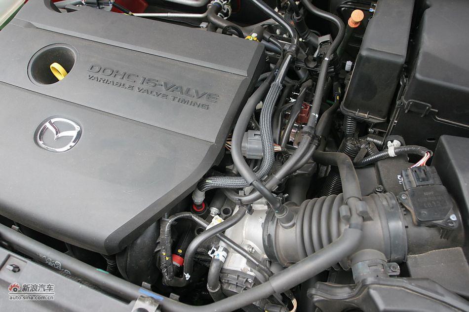 马自达3星骋发动机舱 马自达3引擎底盘图片7753495高清图片