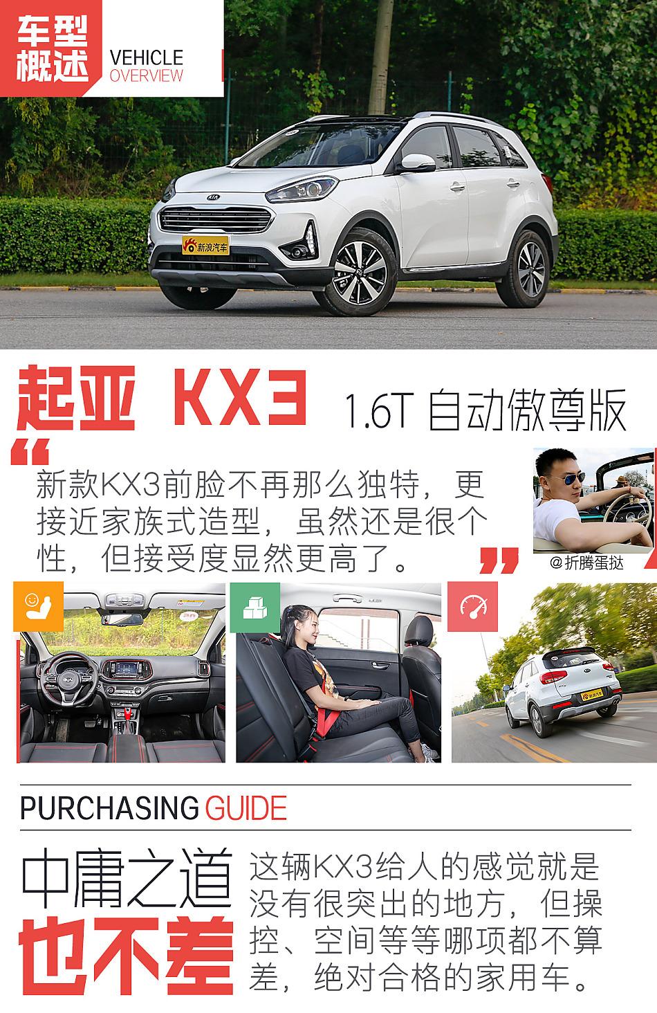 起亚KX3购车完全指南