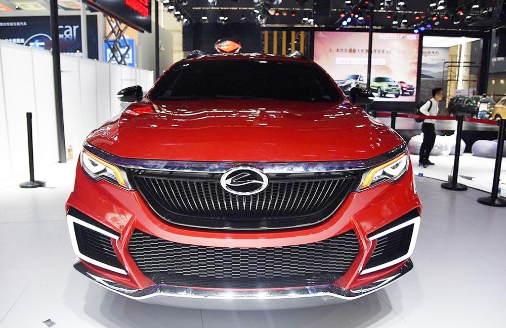 自主推新SUV 比荣威RX5还漂亮!