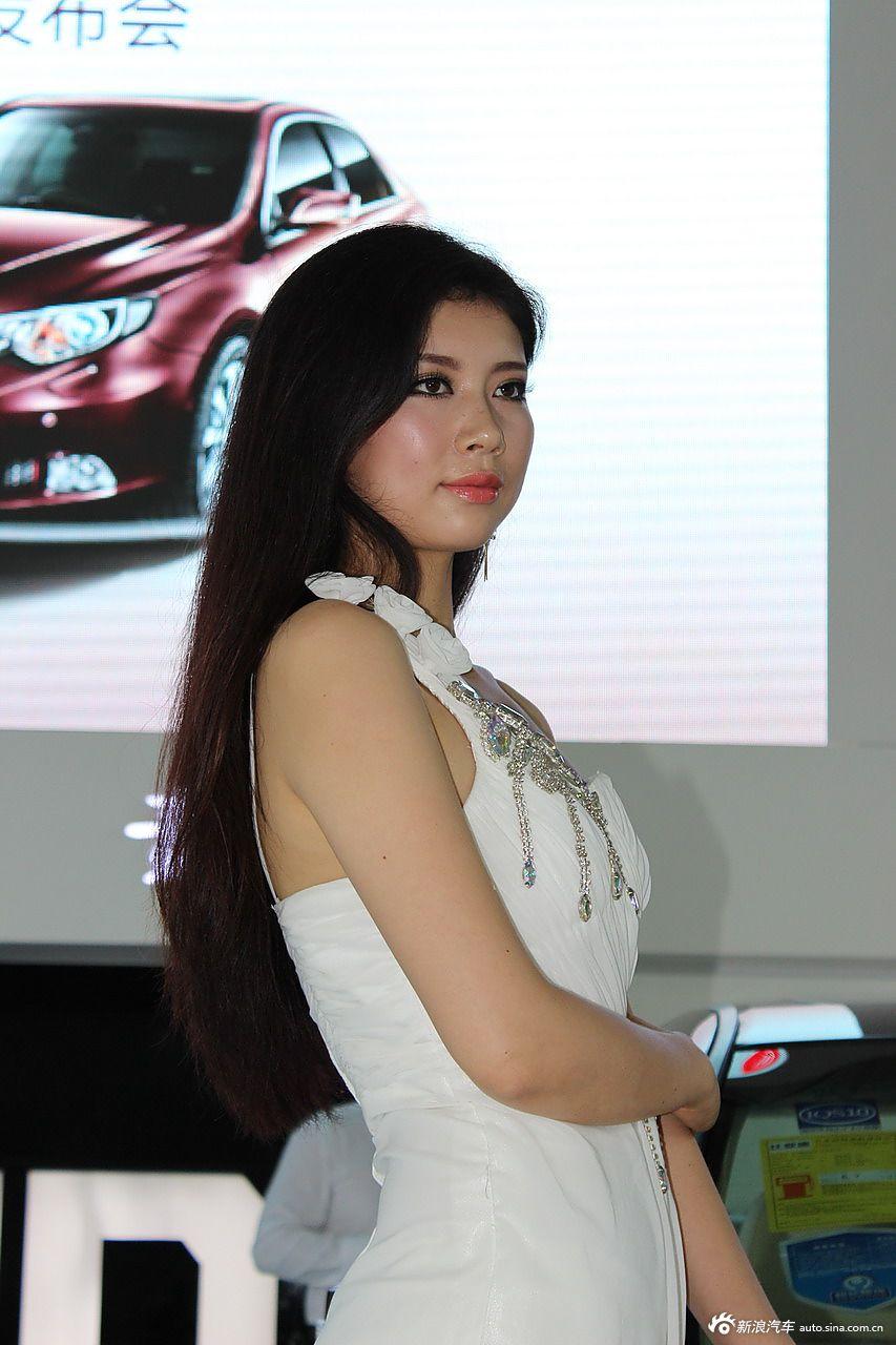 2013银川车展模特高清图图片