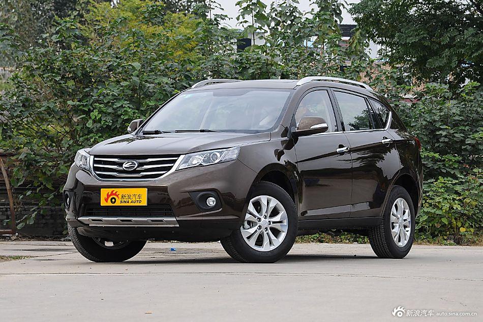 陆风家族最畅销的紧凑型SUV 陆风X系列