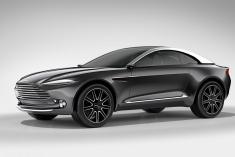 跨界风格也豪华 阿斯顿·马丁DBX概念车