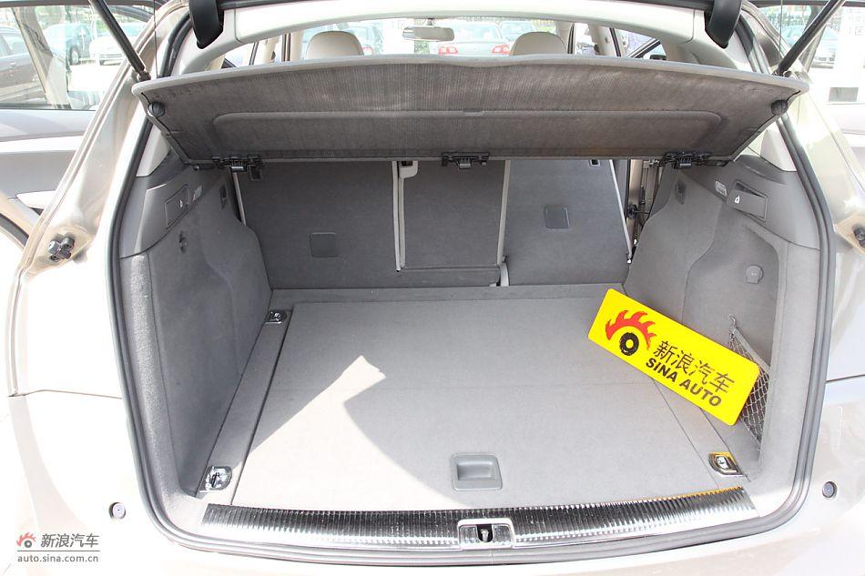 奥迪q5 2.0tfsi技术型:发动机,后备箱及悬挂