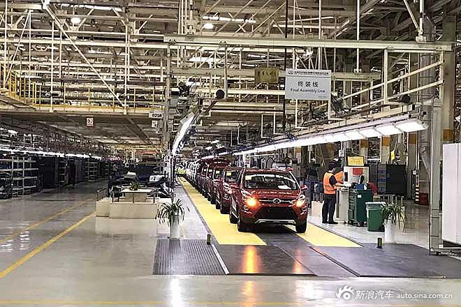 北汽威旺M50F下线 将于广州车展上市