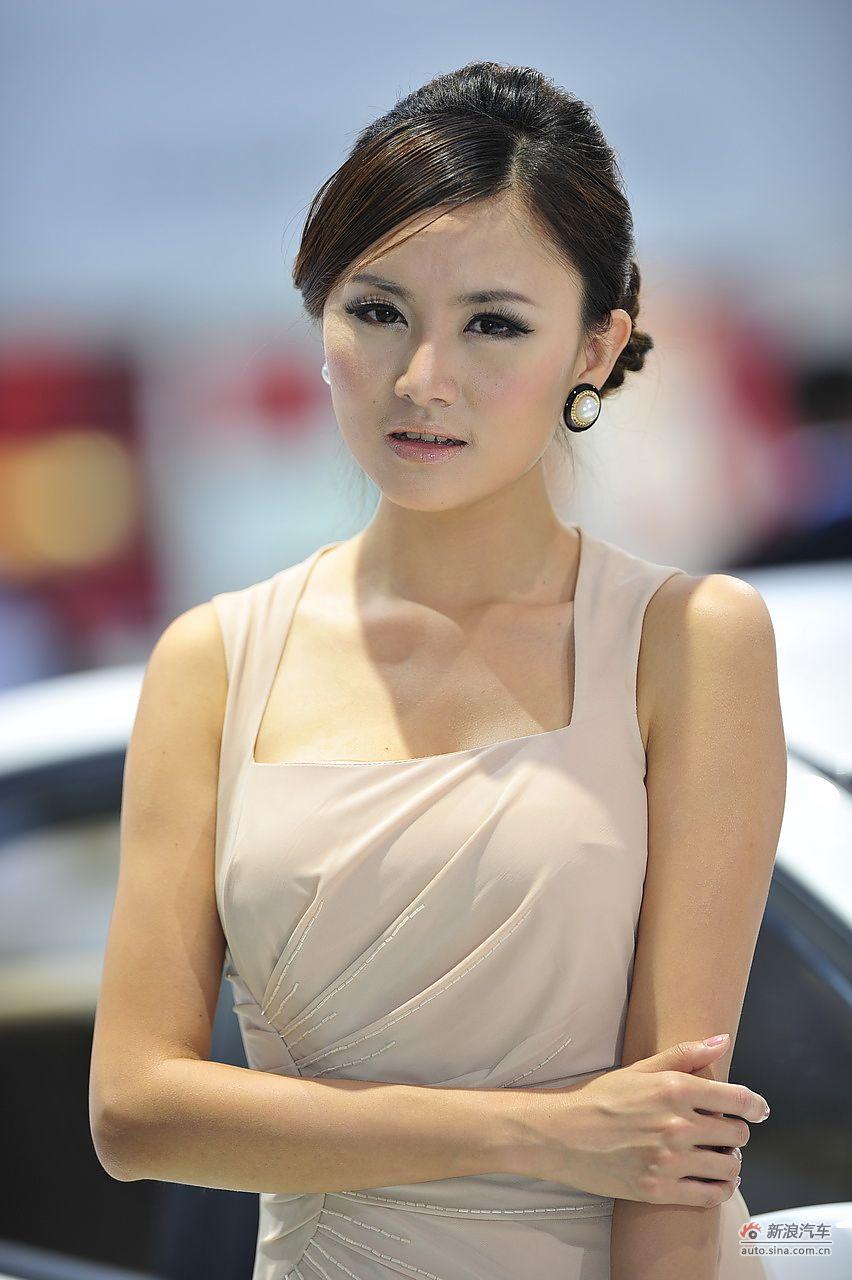 2011广州车展美女高清组图第五季