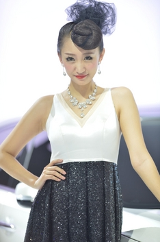 2014北京车展高清模特组图第6季
