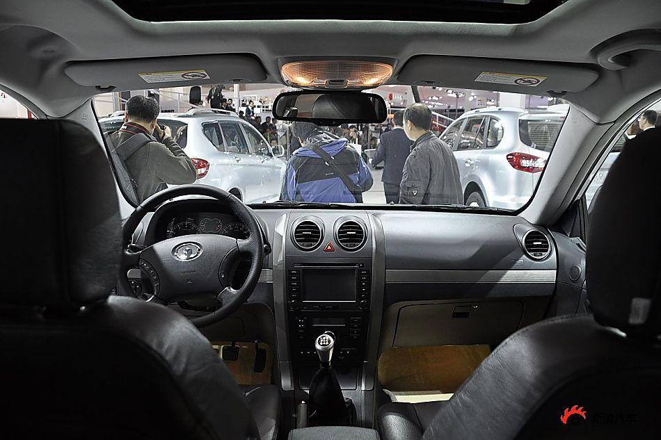 长城汽车哈弗H5智尊版 哈弗H5智尊版车展图片254817高清图片