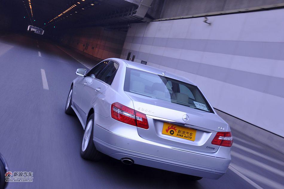 奔驰E200 CGI试车 奔驰E级试车图片4955176
