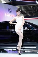 一水的大长腿 北京车展长腿车模合集